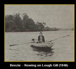 Beezie Boating on Lough Gill