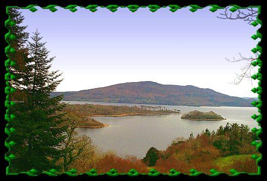 Church Island, Lough Gill, County Sligo.