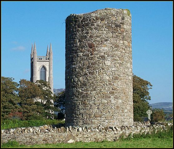 Round Tower, Drumcliffe, County Sligo..