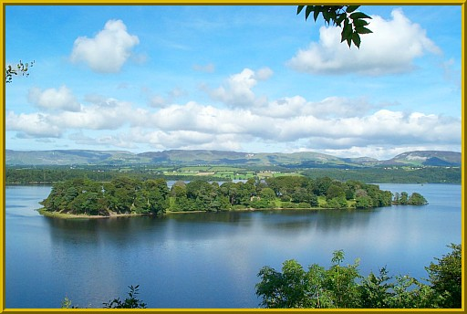 Beezie's Island, Lough Gill, County Sligo.